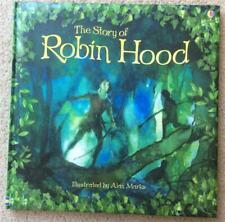 THE STORY OF ROBIN HOOD HARDCOVER BOOK ROB LLOYD JONES ILL. ALAN MARKS~USBORNE