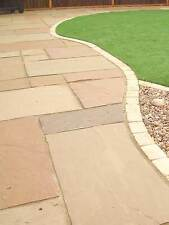 Autumn Brown Sandstone Paving 600x600, Mix Patio Packs, 20mm Thickness2