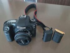 Canon EOS 80D 24.2 Mega Pixels  Digital SLR Camera with 24mm F/2.8 LENS