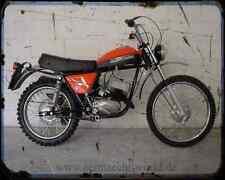 Aermacchi Rc 125 1 A4 Metal Sign Motorbike Vintage Aged