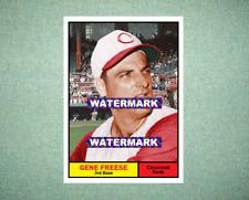 Gene Freese Cincinnati Reds 1961 Style Custom Art Card