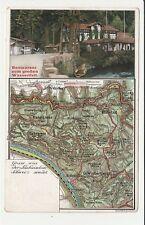 Lichtenhain Grossen Wasserfall Sachsischen Schweiz Karte - Schmilka, Kuhstall
