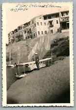Egypte, Assouan (أسوان), Hôtel Cataracte  Vintage silver print. Tirage argenti