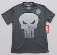 MARVEL PUNISHER LINE OMBRE SKULL ADULT TEE T-SHIRT SHORT SLEEVED S,M,L,XL,2XL