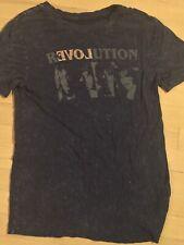 Beatles Revolution T-Shirt L 10-12 John Lennon Paul McCartney George Harrison