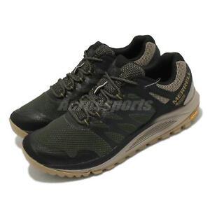 Merrell Nova 2 GTX Gore-Tex Green Olive Men Outdoors Hiking Shoes J066945