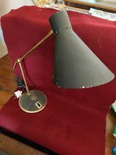 lampe de bureau vintage 2 bras  era Mathieu Lacroix Biny