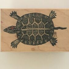 OLOR Rubber Stamp Tortoise Turtle Animal Nature Outdoors Card Making Craft Art