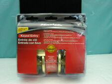 New Master Lock Keyed Entry Door Knob Set