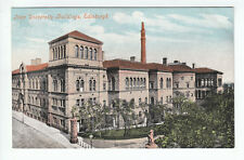 New University Buildings Edinburgh Pre 1911 Valentines Old Postcard Unposted