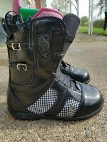 Burton Women's Supreme Snowboard Boots size 6.5 Gucci Edition Black
