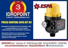 ESPA KIT 03 PRESS CONTROL per controllo della pompa