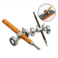 26mm Stainless Side Clamping Fixed Angle Honing Guide Tool For Wood Chisel Blade