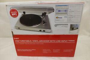ION TTUSB05XL Turntable / Vinyl Archiver usb VINYL TO MP3 CONVERTER