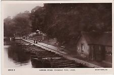 Landing Stage, Roundhay Park, LEEDS, Yorkshire RP