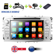 "7"" HD Car DVD/CD/USB/SD/3G Player GPS Bluetooth Ford Focus Mondeo S/C-Max Galaxy"