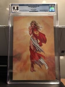 BATMAN/SUPERMAN SUPERGIRL VIRGIN 9.8 CGC MICHAEL TURNER ASPEN