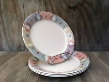 Corelle Dishes Mirage Beige Small Rimmed B&B Or Dessert Plates Set Of 4