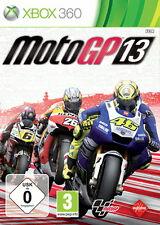 MotoGP 13 (Microsoft Xbox 360, 2013, DVD Box) * GOOD * O. Anl.