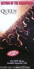 Queen 2005 Return Of The Champions Promo Poster Original