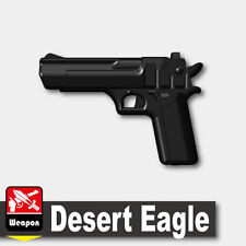 Desert Eagle (W68) .50 pistol compatible with toy brick minifigures Army Police