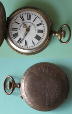 Systeme Roskopf / Functional Antique Hunter Case Pocket Watch