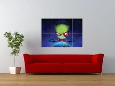 Invader Zim Cartoon Kids Television Giant Wall Art Poster Print