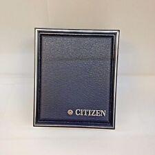 New CITIZEN Dark Blue Plastic Watch Box Presentation Storage Case