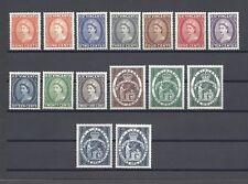 ST VINCENT 1955-63 SG 189/200 + Shades MNH Cat £120