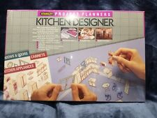 Stanley Project Planners Kitchen Designer Scale Gridboard 1988 90-362 NEW SEALED