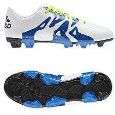 Adidas S74638 X 15.3 FG AG J Kinder Fußballschuhe Training 38 UK5 Weiß Blau NEU