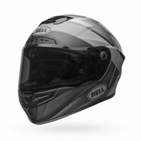 Bell Race Star Flex DLX Helmet Surge Matte/Gloss Brushed Metal/Grey size Large