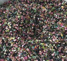 TOURMALINE MIX 2-5mm tumbled 2 lb bulk stones xmini green blue pink  Wholesale