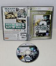 Tom Clancy's Ghost Recon: Advanced Warfighter 2 (Microsoft Xbox 360, 2007)