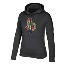 "Ottawa Senators NHL Adidas Women's ""Logo Shine"" Black Hoodie"