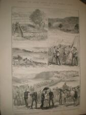 South Africa Bronkers Spruit Mount Propsect Newcastle natal 1881 prints ref AT