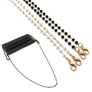 Sunglasses Neck Cord Strap Glasses Lanyard Chain Beads Rope Holder