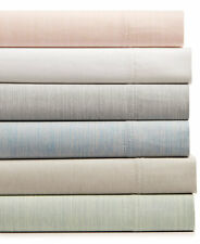 Hotel Collection Cotton 525 Thread Count Yarn-Dyed QUEEN Sheet Set Khaki G565