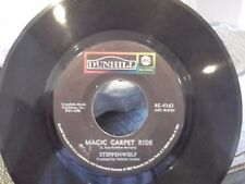 45W-STEPPENWOLF MAGIC CARPET RIDE/SOOKIE SOOKIE ON DUNHILL   RECORDS