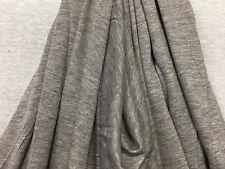 Linen Tencel Luxurious Japanese Knit Drapey Jersey fabric semi-sheer Hther Gray