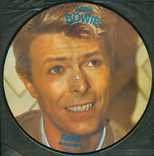 NEW David Bowie - Rare Interview / Let's Talk (Vinyl LP Picture Disc AR 30010)