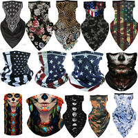Face Bandana Scarf for Motorcycle Riding Cycling Running Headbands Neck Gaiter
