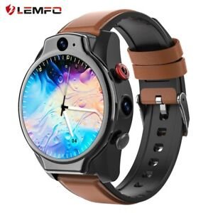 LEMFO LEM14 Smart Watch 4G SIM Card Android 10 Face ID 4G 64G Smart watch