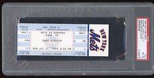 Pedro Martinez Win #6 July 11 1993 7/11/93 Mets Dodgers Full Ticket PSA 8 NM-MT
