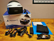 SONY PLAYSTATION 4 VR BRILLE ► PS4 VIRTUAL REALITY HEADSET ◄ CUH-ZVR1 OVP