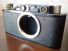 Leica II from 1932 serial 80315 Nickel Black Body Camera