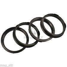 4x Bagues de centrage 67,0 - 60,1 mm DBV Roues Schmidt pour Toyota Lexus Suzuki