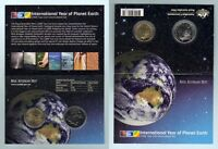 AUSTRALIA  2008 'Planet Earth'  2 coin  Mint Set