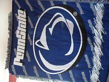 "Penn State theme Woven throw tapestry blanket  45"" x 60"""