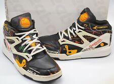 NDS Reebok Pump X Swizz Beatz Basquiat Omni Lite Rubber Ducky Black/Multi sz 11